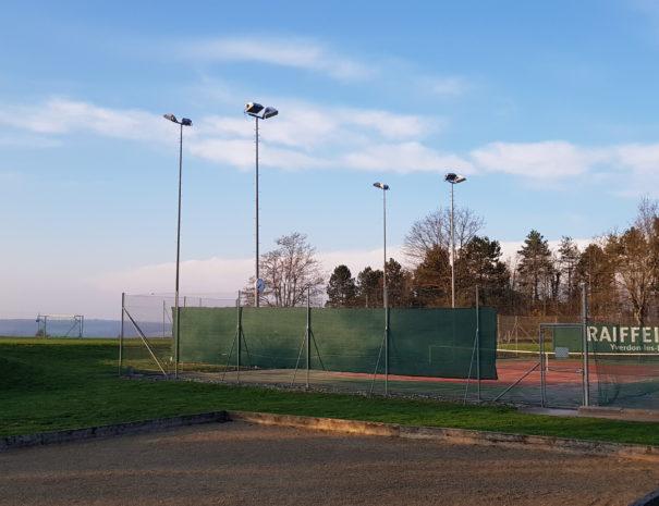 Terrains de tennis à Chamblon - TCC