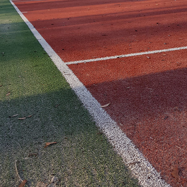 Tennis-Club Chamblon - Marquage au sol