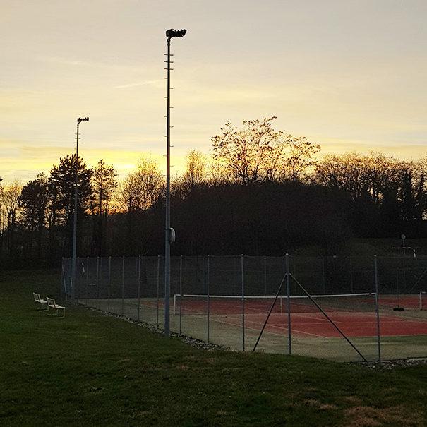Tennis-Club Chamblon - Un joli cadre