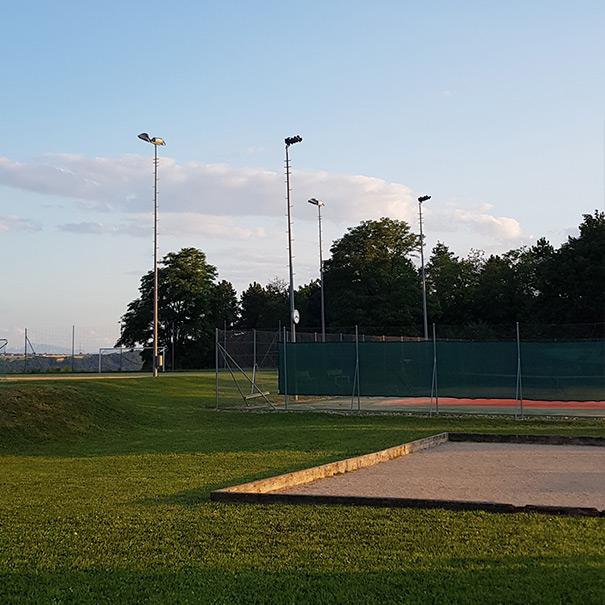 Club de Tennis de Chamblon - Court extérieur