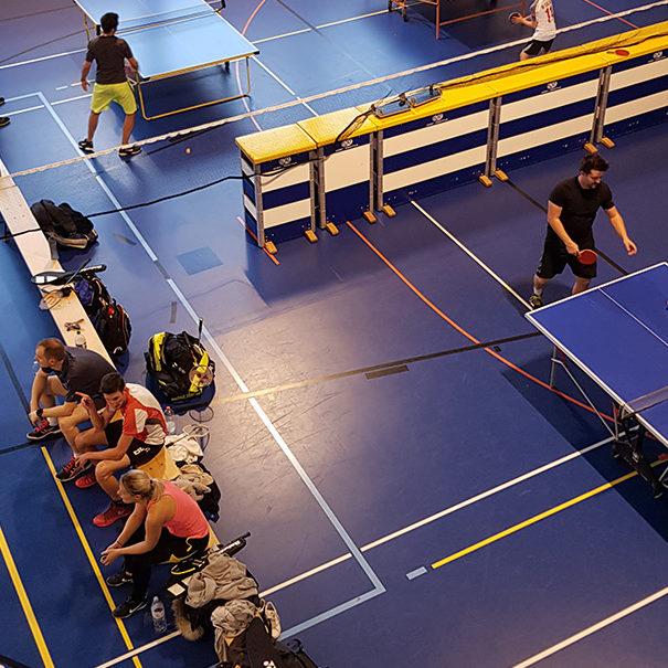 Tennis-Club Chamblon - Entrainement à l'intérieur